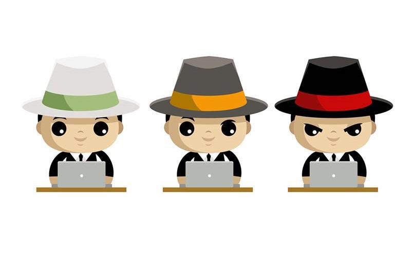سئو کلاه سیاه,سئو کلاه سفید,سئو کلاه خاکستری