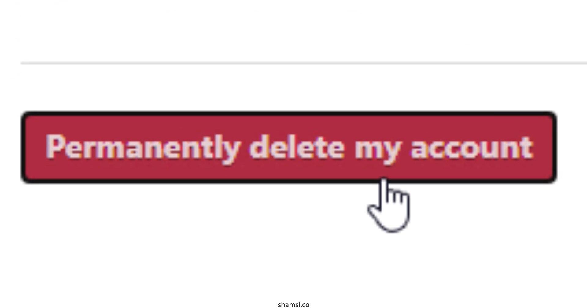 حذف حساب کاربری اینستا